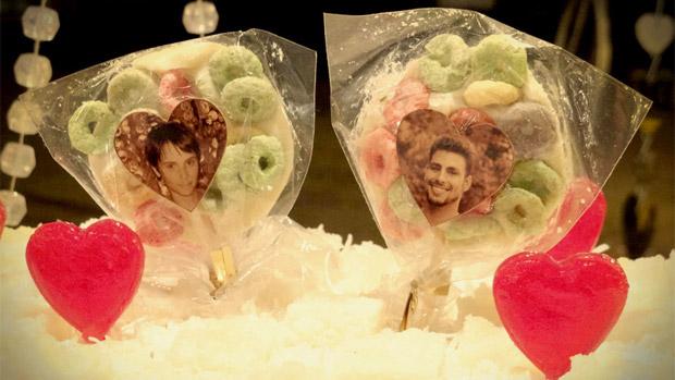 Detalhe da decoração do casamento de Jorginho (Cauã Reymond) e Nina (Débora Fallabela)