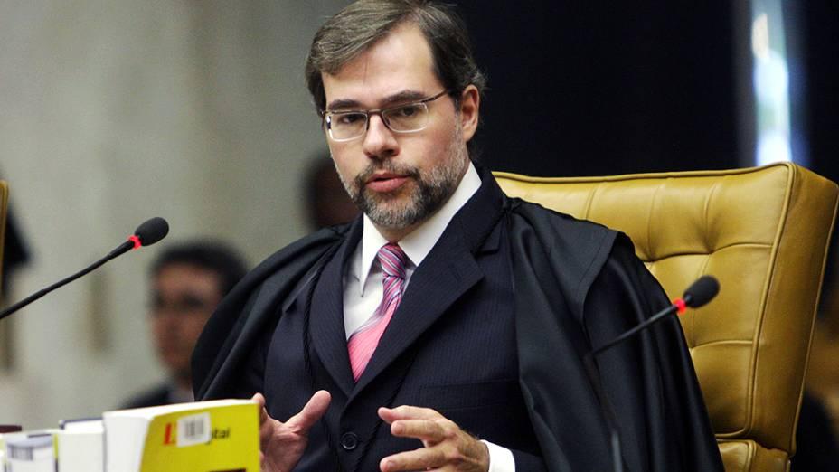 José Antonio Dias Toffoli, no décimo quinto dia de julgamento do mensalão