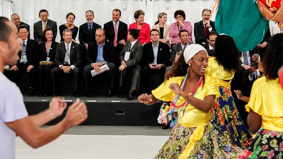 Dilma Rousseff na abertura da Rio+20