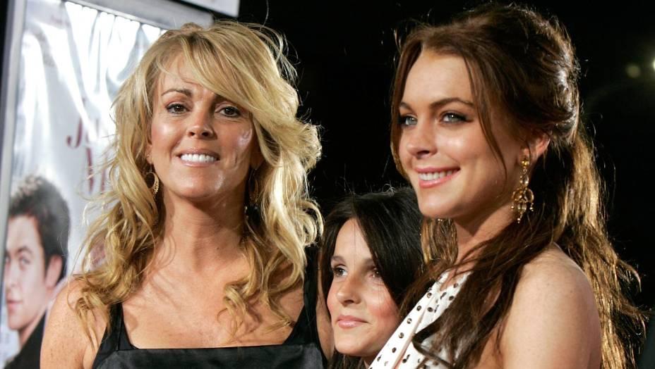 Dina Lohan, mãe da atriz Lindsay Lohan