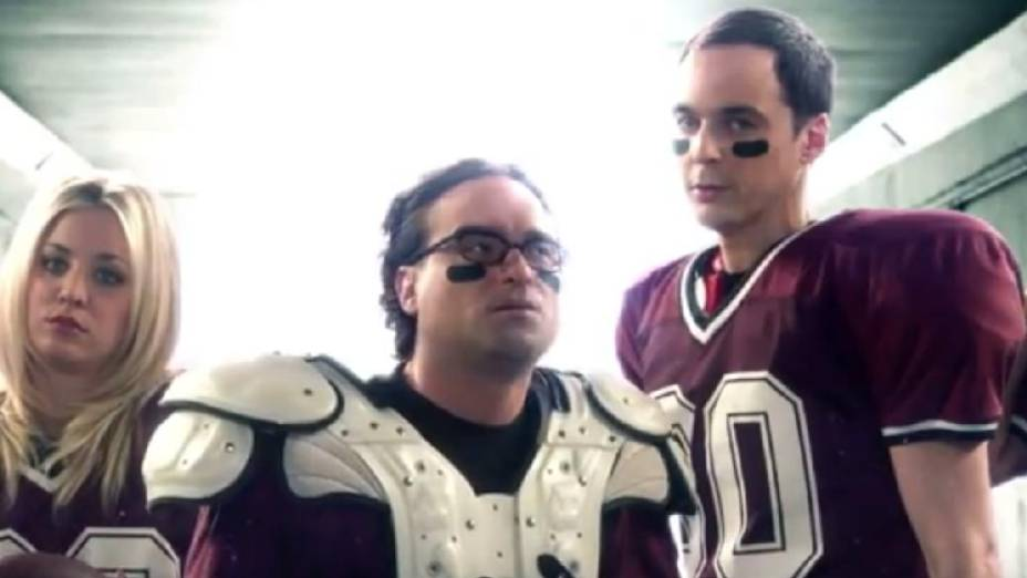 Divulgação especial de The Big Bang Theory no Super Bowl