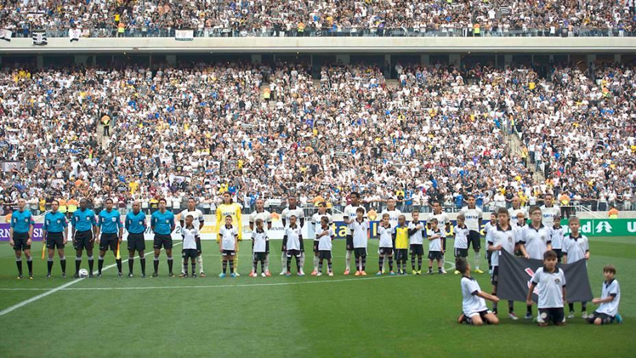 Corinthians e Figueirense fazem o primeiro jogo oficial do Itaquerão, pelo Campeonato Brasileiro em São Paulo