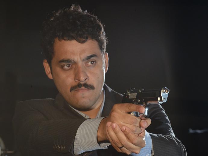 Rui Ricardo Diaz em cena do filme A Floresta que se Move