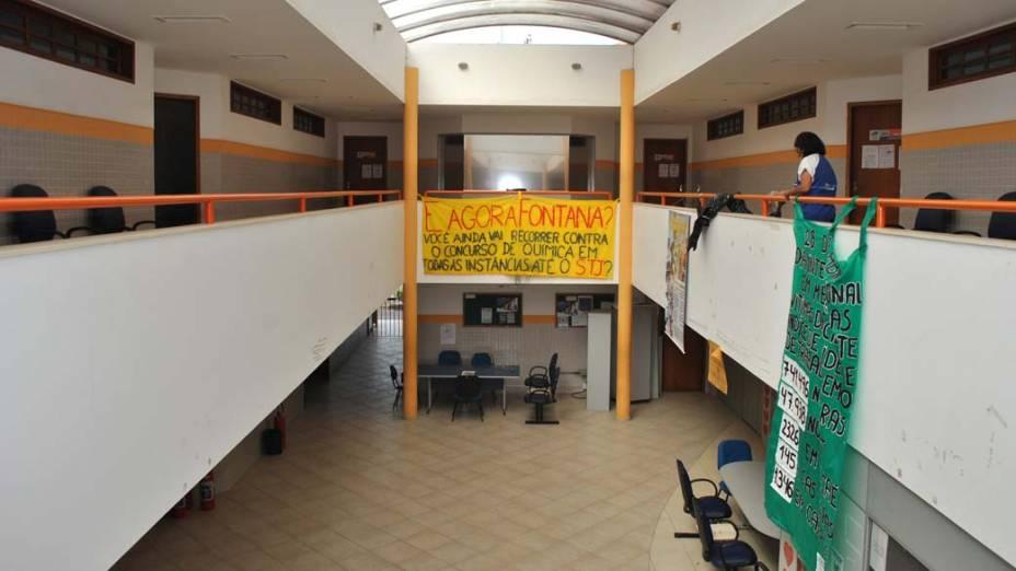 Atividades paralisadas na UFF em Rio das Ostras: greve das federais está prestes a completar dois meses