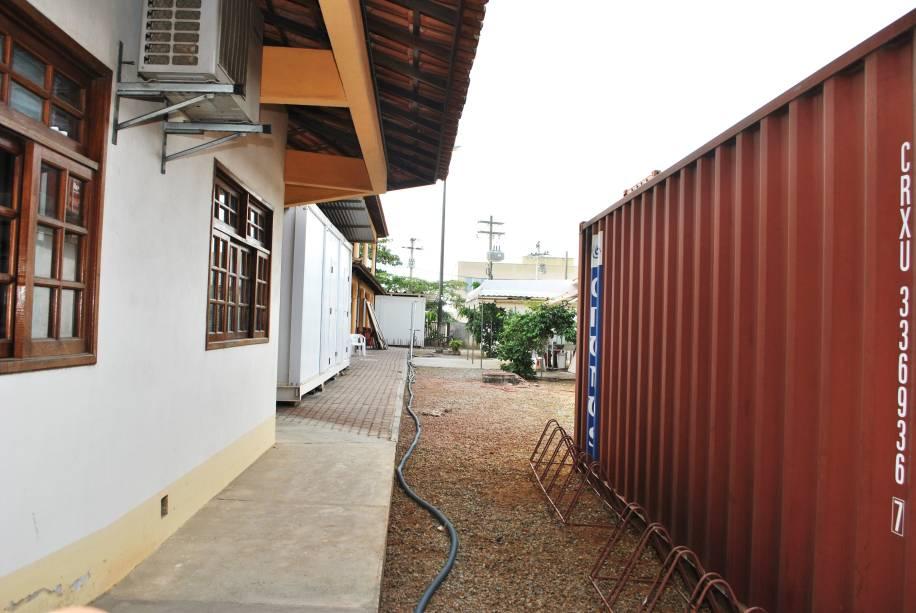 Expansão da UFF em Rio das Ostras: contêineres em vez de prédios
