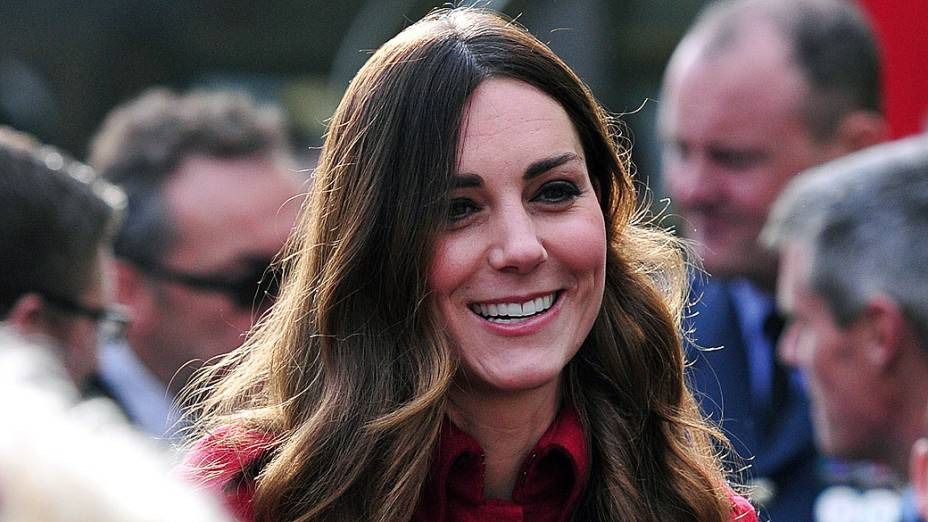 A duquesa de Cambridge Kate Middleton