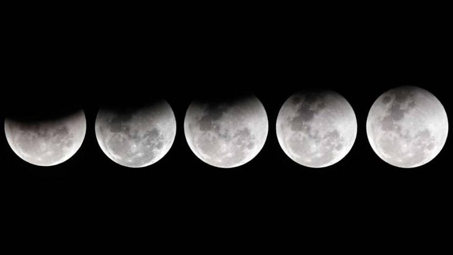 <p>Eclipse da lua visto de São Paulo</p>