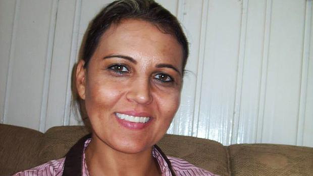 A assistente social Edelvania Wirganovicz, suspeita de participação no crime junto com o casal