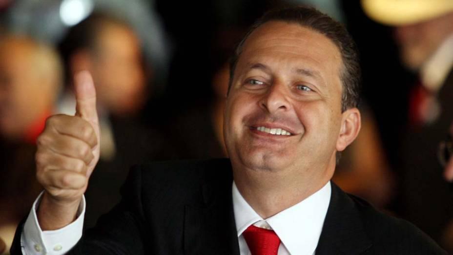 O governador de Pernambuco, Eduardo Campos
