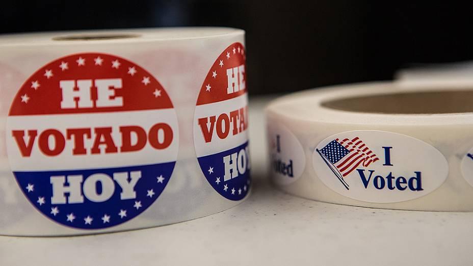 A eleição presidencial de 2012 nos Estados Unidos é realizada nesta terça-feira, 6 de novembro