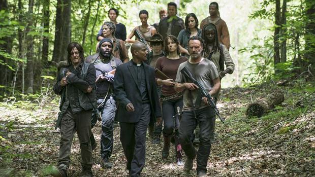 """Elenco da série """"The Walking Dead na 5ª temporada"""