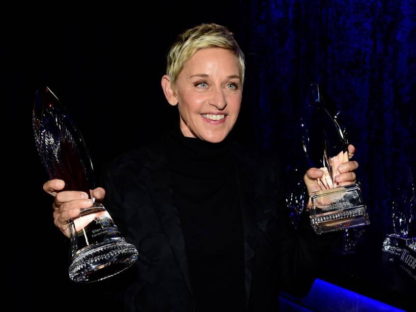 Ellen DeGeneres no People's Choice Awards 2016