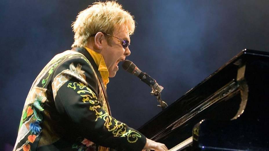 Show de Elton John em São Paulo, 2009