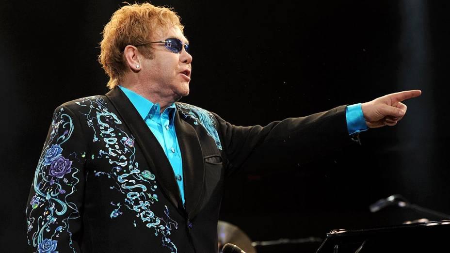 Show de Elton John em Ontario, 2010
