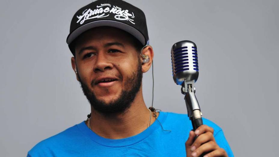 O rapper brasileiro Emicida