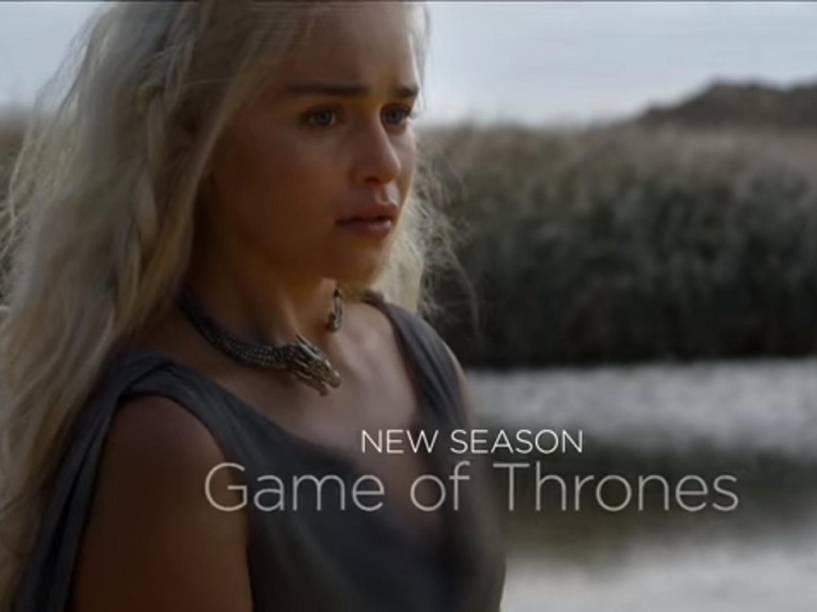 Emilia Clarke (Daenerys) na prévia da sexta temporada da Game of Thrones