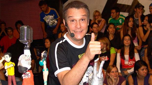Emilio Surita é o apresentador do <em>Pânico</em>