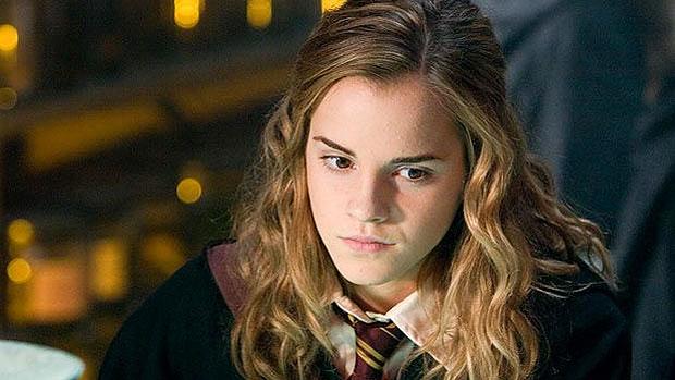 Emma Watson viveu Hermione Granger em Harry Potter