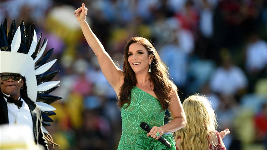 Ivete Sangalo no encerramento da Copa, no Maracanã