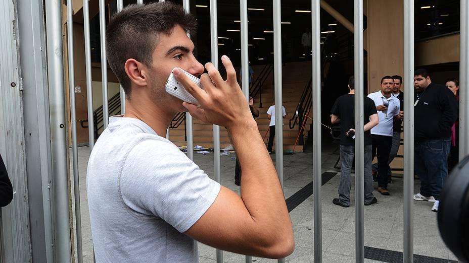 Estudante chegou atrasado e perdeu a prova do Enem na Uninove, em São Paulo