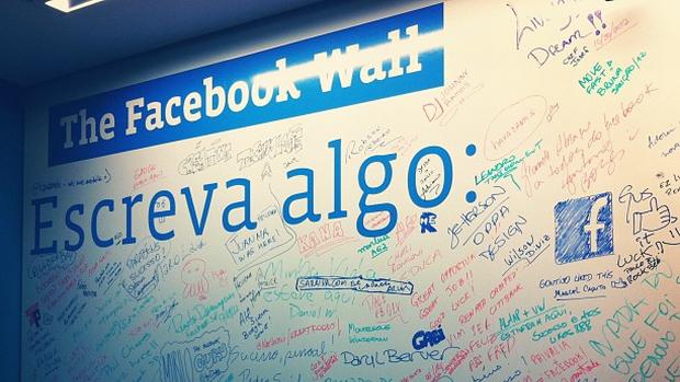 Escritório do Facebook no Brasil, localizado no bairro Itaim Bibi, em São Paulo