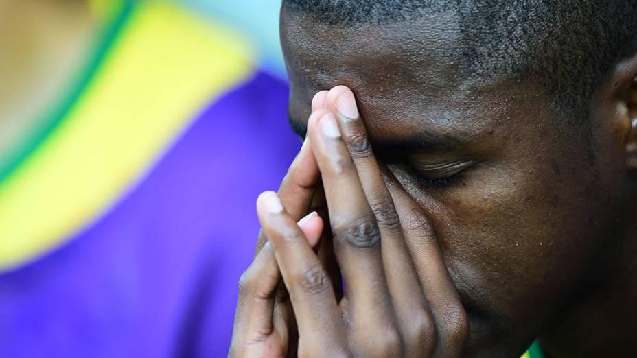Ramires durante o jogo contra a Alemanha