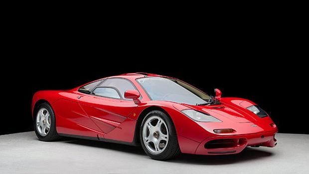 McLaren F1 que pertenceu a Michael Andretti: motor BMW V12, 6.1 litros, mais de 620 cv, velocidade máxima de 390 km/hora