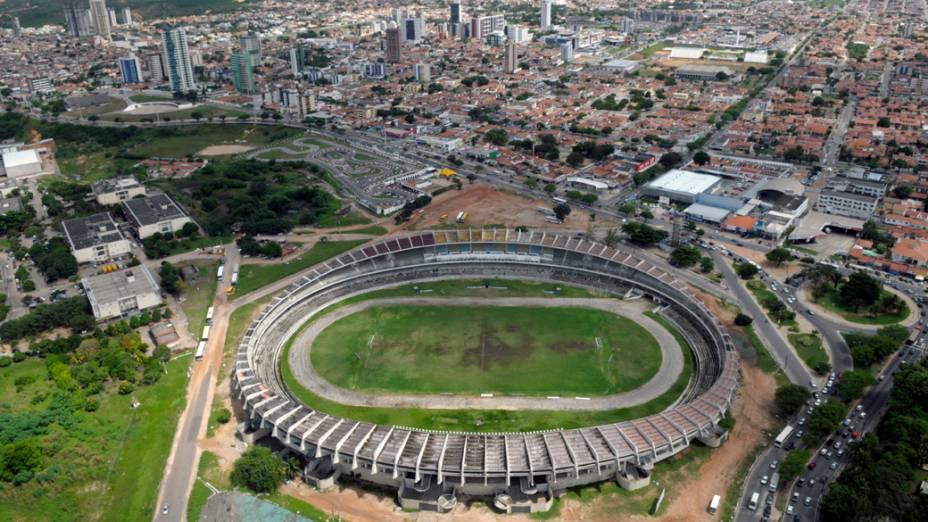 Estádio Machadão, onde será construído o Arena das Dubas, Natal (RN)