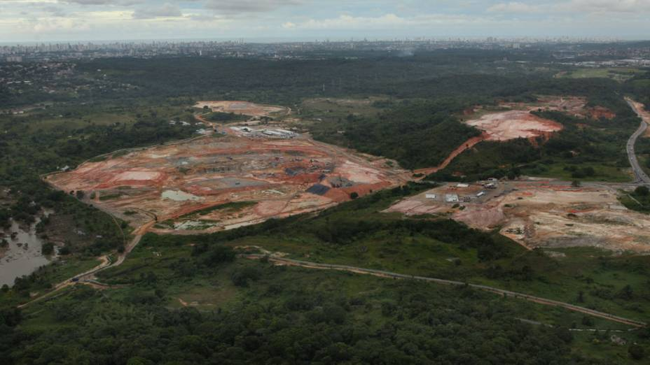 Obras do Estádio Arena Pernambuco, Recife (PE)