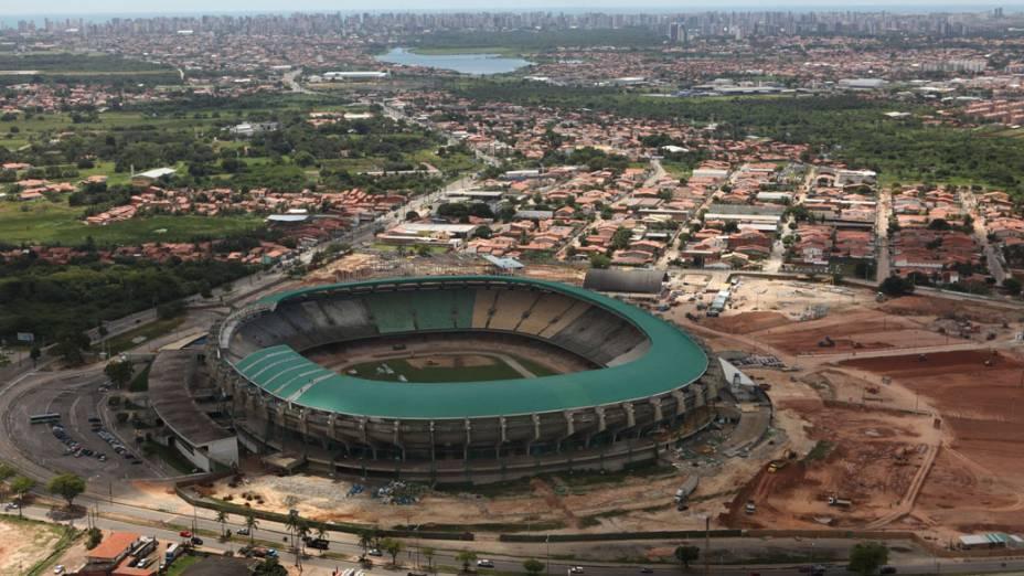 Obras no estádio Castelão, Fortaleza (CE)
