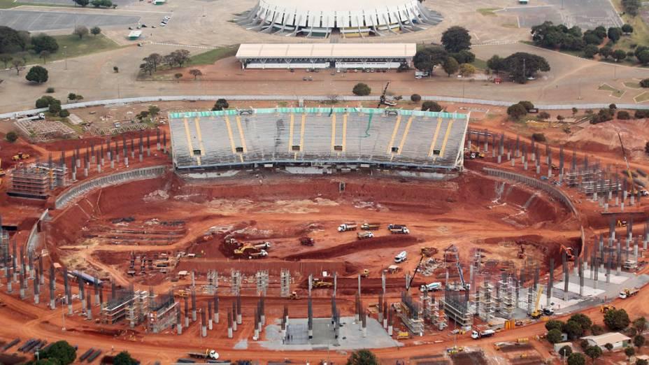 Resconstrução do estádio Mané Garrincha em Brasília (DF)