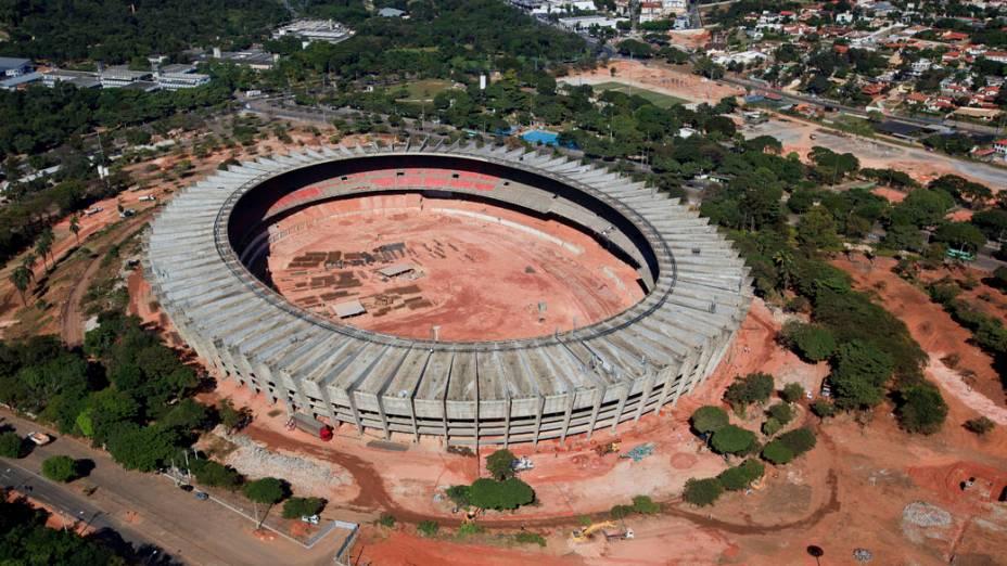 Reforma no estádio Mineirão em Minas Gerais (MG)
