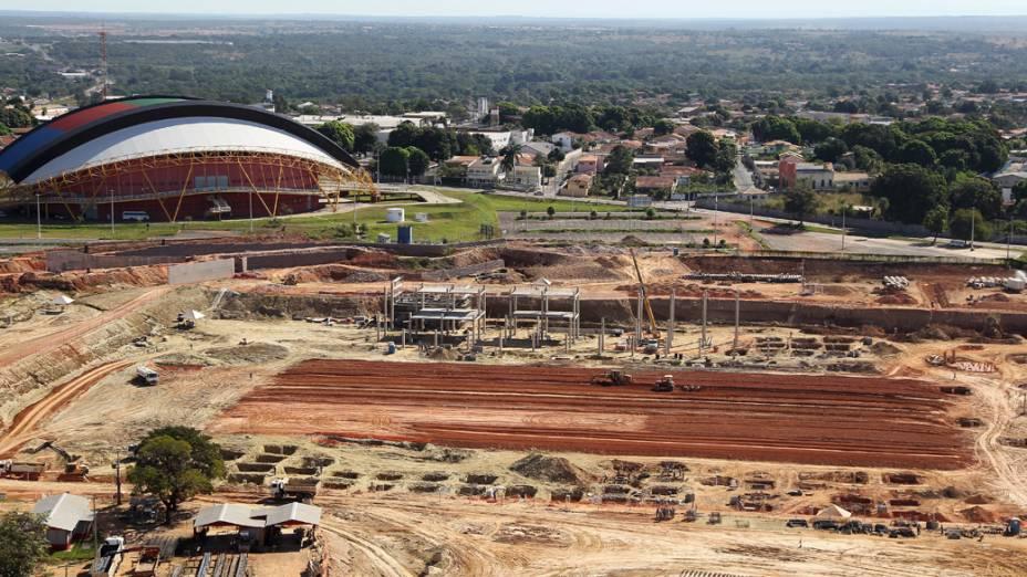 Obras do Estádio Verdão em Cuiabá (MT)