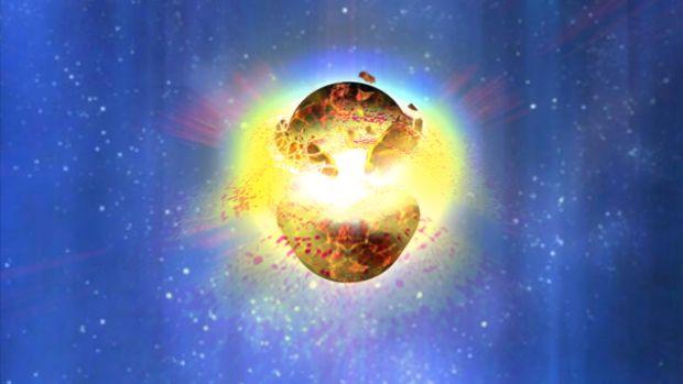 """<p style=""""text-align:justify;"""">Se 2016 ficou conhecido como o ano em que detectamos pela primeira vez ondas gravitacionais – minúsculas distorções no espaço-tempo (aquilo que os físicos descrevem metaforicamente como o tecido do Universo, onde todos os acontecimentos transcorrem) –, 2017 será para sempre lembrado por quando levamos essa descoberta mais além. Em outubro, cientistas conseguiram identificar o mesmo fenômeno a partir da colisão entre duas estrelas de nêutron. As ondas gravitacionais foram previstas na Teoria Geral da Relatividade de Albert Einstein, segundo a qual matéria e energia distorcem a geometria do Universo, da mesma forma que uma pessoa faz um colchão ceder ao deitar-se sobre ele.</p><p style=""""text-align:justify;"""">As estrelas de nêutron, por sua vez, são astros extremamente densos que sobram após a explosão de uma estrela comum. Ao observar a colisão entre dois desses corpos celestes, os cientistas puderam ver pela primeira vez a contrapartida óptica das ondas gravitacionais. Nas experiências anteriores, só foi possível identificá-las pela colisão de dois buracos negros – e essas observações tiveram de ser feitas indiretamente, uma vez que buracos negros absorvem toda a luz ao seu redor e, portanto, não são visíveis.</p>"""