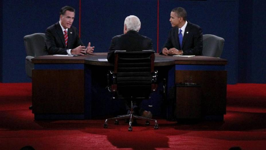 Obama e Tomeny tratam de política esterna em debate eleitoral nos Estados Unidos