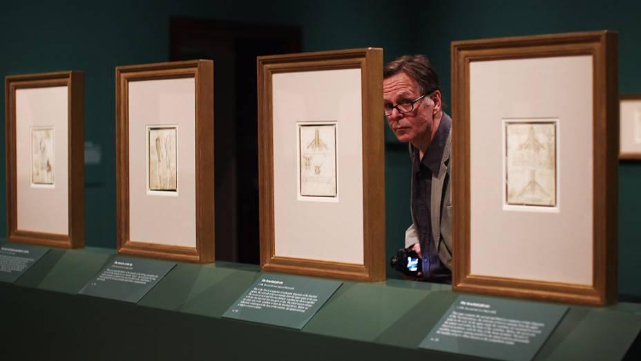 """<p>Exposição entitulada <em>""""Anatomist: Inside His Mind, Inside The Body""""</em> reúne estudos do corpo-humano realizados por Leonardo Da Vinci</p>"""