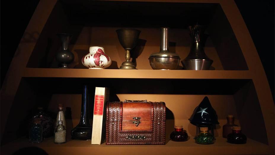 Quarto da Morgana na exposição Castelo Rá-Tim-Bum