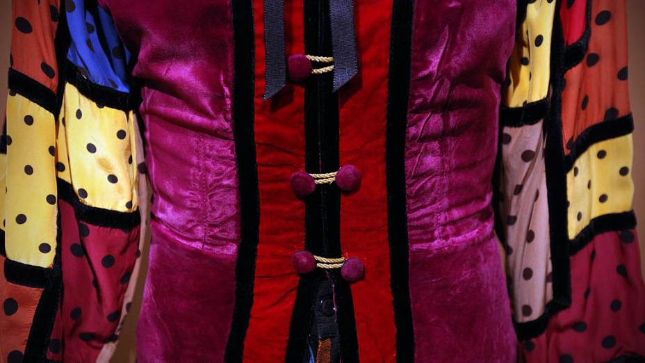 Detalhe do vestuário do personagem Nino