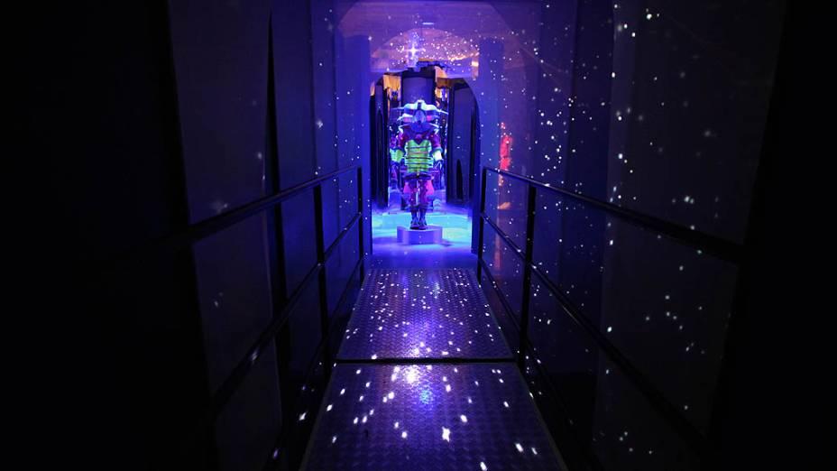 Espaço dedicado ao personagem Etevaldo em Castelo Rá-Tim-Bum -  A exposição