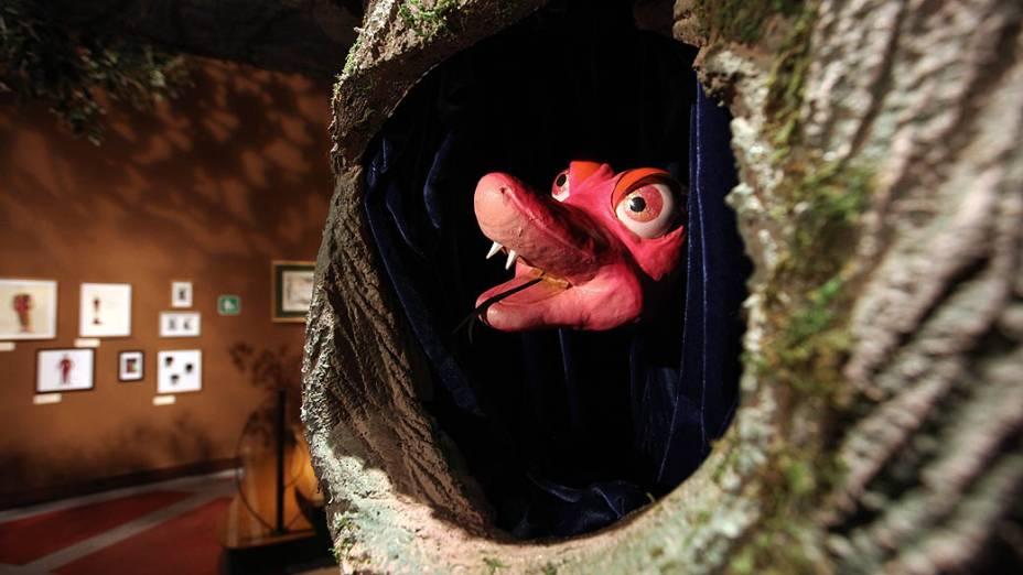 Cobra Celeste em Castelo Rá-Tim-Bum - A exposição