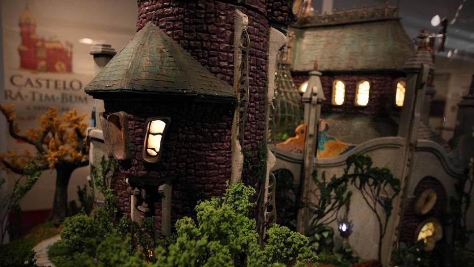 Maquete original utilizada na abertura do seriado