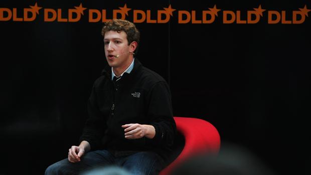Em janeiro de 2009, o fundador do Facebook relata as tarefas na empresa durante conferência Digital Life Design (DLD), na Alemanha
