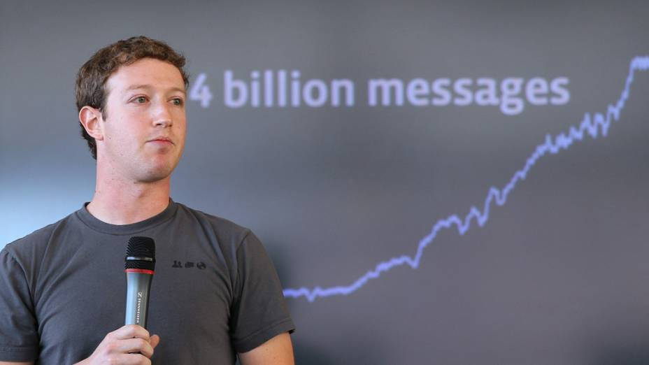 Em novembro de 2010, Mark Zuckerberg anuncia novas mudanças na rede social
