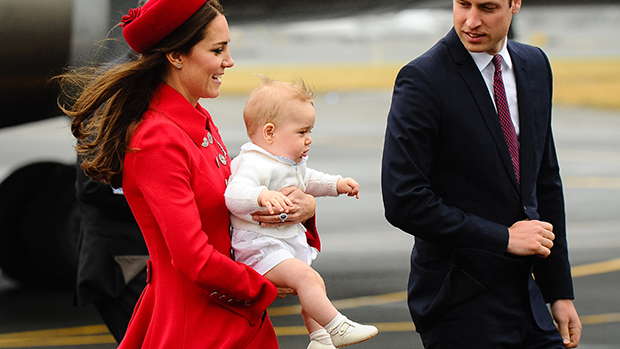 O príncipe William e a duquesa de Cambridge Kate Middleton durante visita à Nova Zelândia