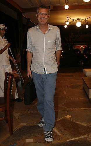 O apresentador Pedro Bial já foi casado quatro vezes.