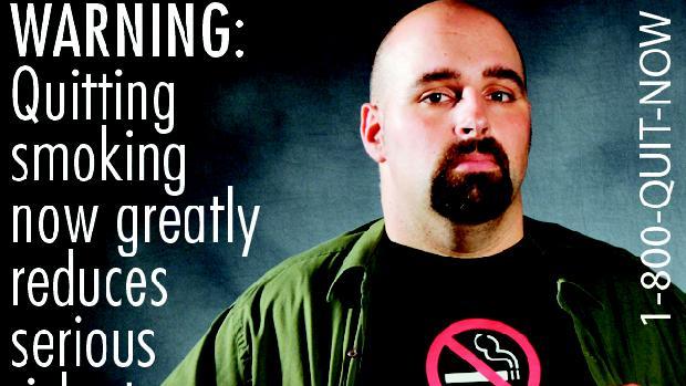Advertência: parar de fumar reduz drasticamente os riscos à saúde