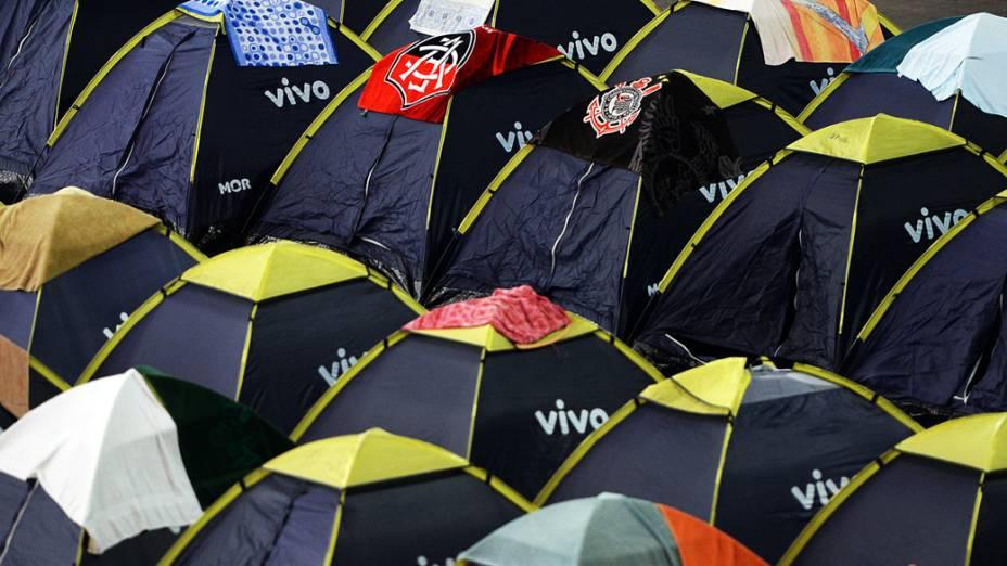 Foram vendidos 8.000 ingressos para acampar na 7ª Campus Party no Anhembi, em São Paulo