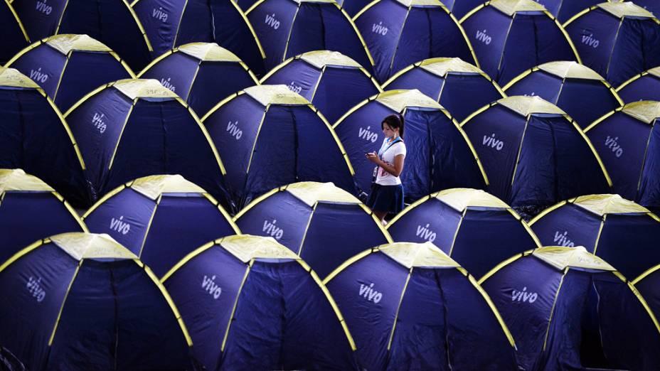 8.000 ingressos foram vendidos para acampar na 7ª Campus Party, no Anhembi, em São Paulo