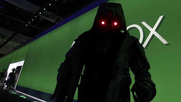 Visitantes durante a feira E3, nos Estados Unidos
