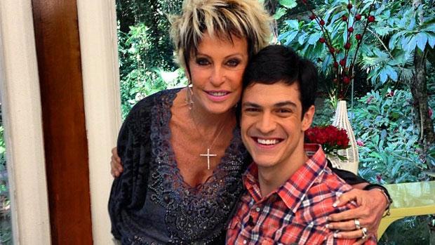 Mateus Solano participa do <em>Mais Você</em>